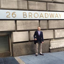 Outside 26 Broadway
